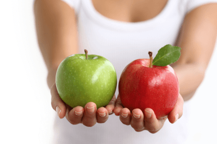 Apples for apples
